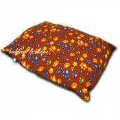 Multi-Paw Brown Large Dogbed Cover