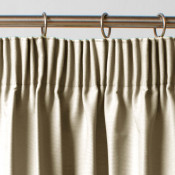 Thermal Blackout Natural Pair of Curtains