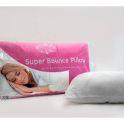 Super Soft Hollow Fibre Super Bounce Back Pair Of Pillows