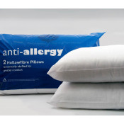 Pair of Anti-allergic Hollow Fibre Pillows