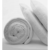 Polycotton Cased Polyester Hollow Fibre 15 Tog Duvet And Pillow Sets