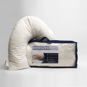 Duck Feather Down U shaped Support Pillow