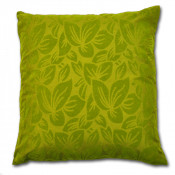 Wyoming Faux Silk Summer Green Cushion Cover