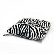 Faux Fur  Zebra Dogbed / Cat Petbed Cover