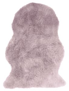 Auckland Luxury Faux Fur Sheepskins in Pink