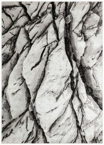Blaze BLZ04 Abstract Marble Rugs in Silver Grey