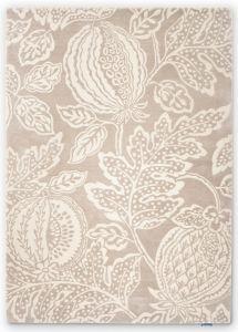 Cantaloupe Fruit Wool Rugs By Sanderson in Pebble Beige