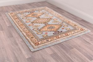 Cashmere Traditional Rugs 5567 in Blue