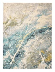 Elssa Abstract Rugs By Concept Loom ELS11 in Ice Blue