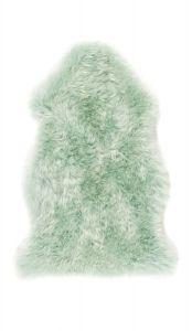 Genuine Sheepskin Animal Fur Rugs in Mint