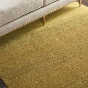Calvin Klein Linear Glow Wool Rugs GLO01 in Verbena