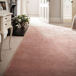 Karma Plain Viscose rugs in Nude