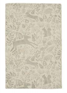 Kelda Woodland Rugs by Scion in 023504 Taupe