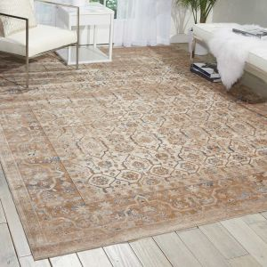 Malta Rugs MAI04 by Kathy Ireland in Taupe