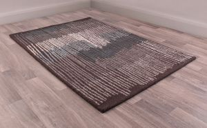 Memphis rugs in Charcoal by URCO