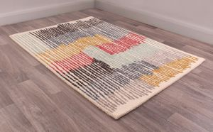Memphis rugs in Cream by URCO