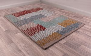 Memphis rugs in Multi by URCO
