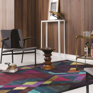Mosaic Rugs 57607 by Ted Baker