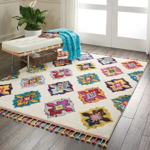 Nomad Rugs NMD06 by Nourison in Ivory Multi