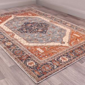 Orient rugs in 2529 Navy by URCO
