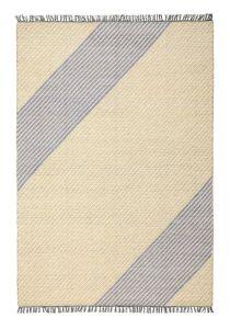 Oslo OSL701 Wool Stripe Rugs in Lemon Yellow