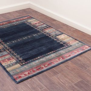 Oushak Luri Traditional Rug in Blue