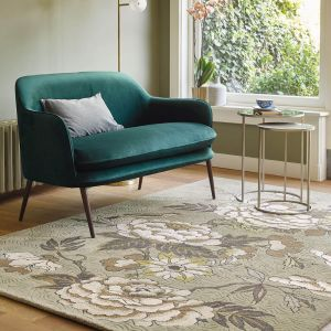 Paeonia Neutral Rugs 37904 by Wedgwood