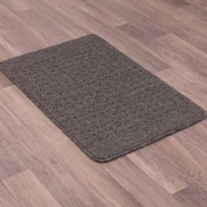 Pin Dot Washable Multi Mat in Charcoal Grey