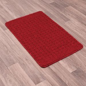 Pin Dot Washable Multi Mat in Red