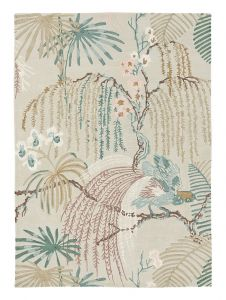 Rain Forest Rugs 50701 in Orchid grey by Sanderson