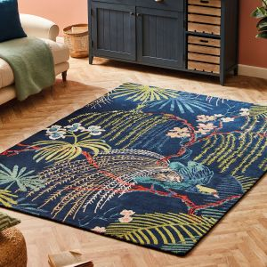 Rain Forest Rugs 50708 in Tropical Night by Sanderson