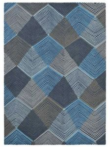 Rhythm Rugs in Indigo 40908 by Harlequin