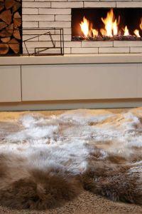Sheepskin Rugs in Taupe