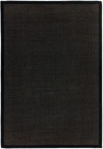Sisal Rugs in Plain Black