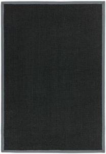 Sisal Rugs in Black Grey