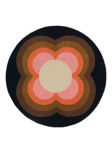 Sunflower Rugs 60005 in Pink by Orla Kiely