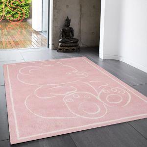 Teddy Rugs in Pink