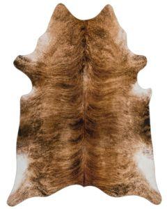 Texas Faux Cowhide Rugs in Brown