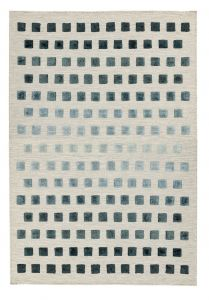 Theo Squares Rugs in Silvery
