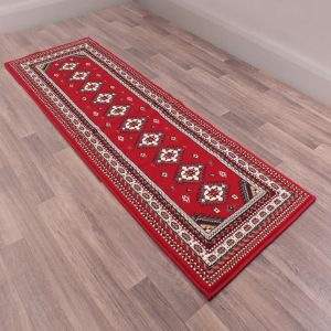 Malak Runners in Red by Rugstyle
