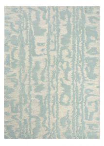 Waterwave Stripe Rugs 039908 in Pearl by Florence Broadhurst