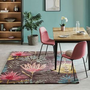 Yasuni Rugs 040405 in Cerise by Harlequin